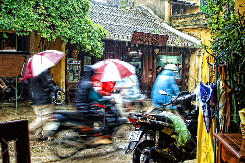 Movement In Hoi An by Ewan Arnolda