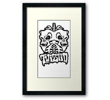 Twiztid - Skull Lungs Framed Print