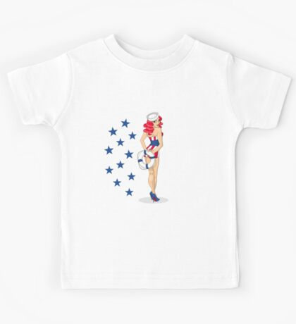 Independence Girl Kids Tee