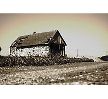 Barn in the Field Photographic Print