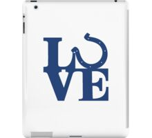LOVE - Colts v2 iPad Case/Skin