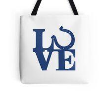 LOVE - Colts v2 Tote Bag