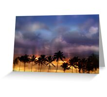 Dreaming In Kauai Greeting Card