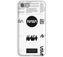 Nasa Graphics Standards Manual 1976 0002 The Logotype Incorrect Uses iPhone Case/Skin