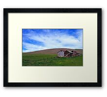 Patterson Pass Rd  •  Livermore Farm Framed Print