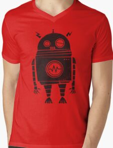 Big Robot 2.0 Mens V-Neck T-Shirt
