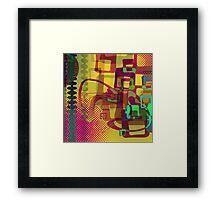 Bazaar Framed Print