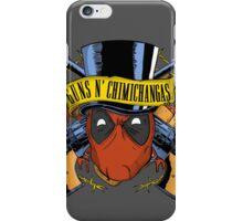 Guns n Chimichangas iPhone Case/Skin