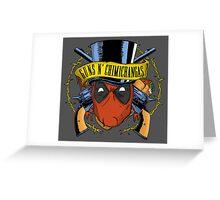 Guns n Chimichangas Greeting Card