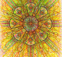 The Flower of Life by George Seraphim