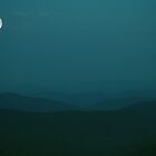 A Blue Ridge Moonrise by Photography by James Hoffman