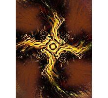 Cross of Light Photographic Print