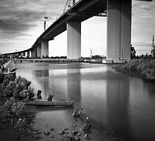 Westgate Bridge, Melbourne  by Christine  Wilson Photography