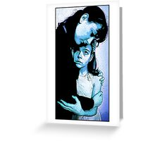 360 - A Little Protect Darkly Greeting Card