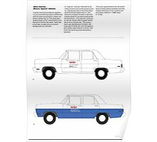 Nasa Graphics Standards Manual 1976 0044 Motor Vehicles White and Special Poster