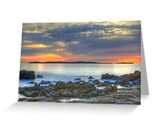 Catalina Sunset (Catalina Island, California) Greeting Card