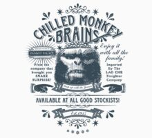Chilled Monkey Brains Kids Tee