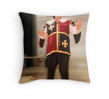 353 - Hard Days Knight Throw Pillow