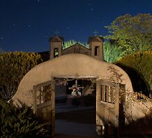 Heaven Above: Santuario de Chimayo by Mitchell Tillison