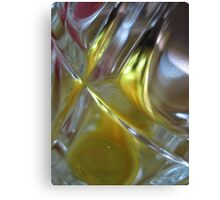 Beer Glass and Lighter Canvas Print