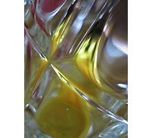 Beer Glass and Lighter Photographic Print
