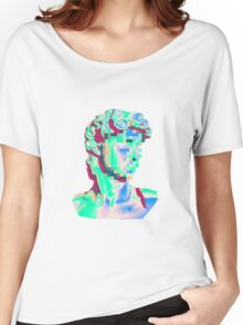 Glitched Bust Women's Relaxed Fit T-Shirt