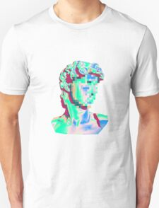 Glitched Bust Unisex T-Shirt