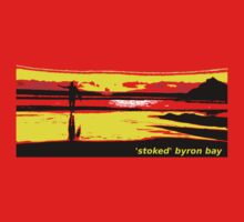 stoked byron bay by michelle mcclintock