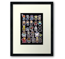 Just a few of my favourite things Framed Print