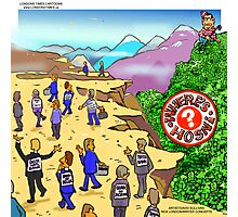 Where's Hosni? By Londons Times Cartoons Photographic Print