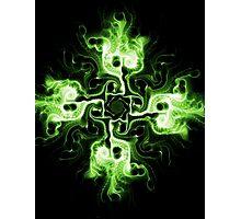 Green Cross Photographic Print