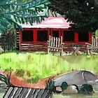 cottage by Leeanne Middleton