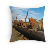 Below The Waterline Throw Pillow