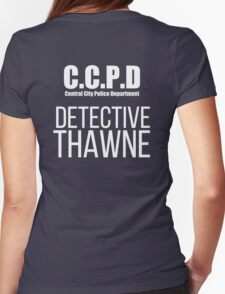 C.C.P.D Detective Thawne Womens Fitted T-Shirt