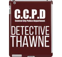 C.C.P.D Detective Thawne iPad Case/Skin