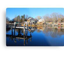 Essex Ship Yard - Essex, Massachusetts Metal Print