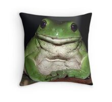 Kermit's Cousin Throw Pillow