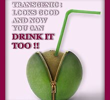 Transgenic - A fictive publicity for transgenic fruits by Lentamente