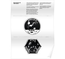 Nasa Graphics Standards Manual 1976 0004 Mission Patches and Other Symbols Poster