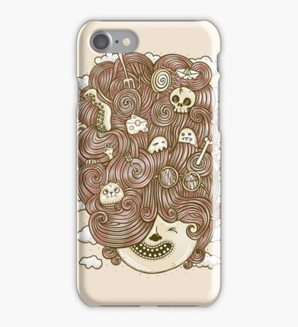 Crazy Hair Day iPhone Case/Skin