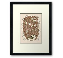 Crazy Hair Day Framed Print