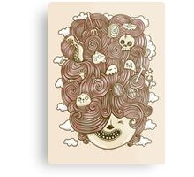 Crazy Hair Day Metal Print