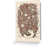 Crazy Hair Day Greeting Card