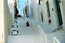 """Solitude on the Stairs - Andros by Christine """"Xine"""" Segalas"""