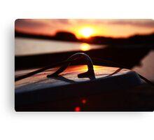 Sailboats at Lake Crabtree V Canvas Print