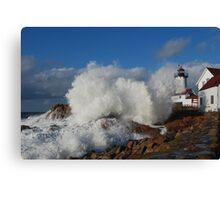 Day after the Storm - Eastern Point Light Canvas Print
