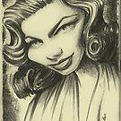 lauren bacall by Michael Scholl