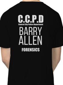 Barry Allen - Forensics Classic T-Shirt