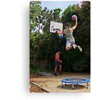 Slam-dunk Canvas Print