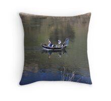 Rub-a-tub Throw Pillow